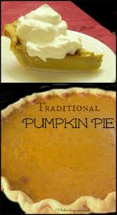 traditional pumpkin pie recipe whats cooking america