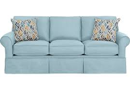 light blue sofa bed provincetown linen loveseat furniture pinterest linens
