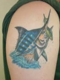 fish tattoos i salt water sportsman
