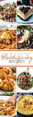 60 thanksgiving side dish recipes including veggies potatoes
