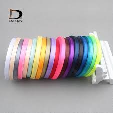4 inch ribbon aliexpress buy solid color 6mm 1 4 inch satin ribbon belt