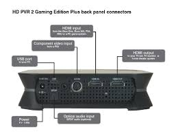 home theater connection hauppauge hd pvr 2 gaming edition plus product description