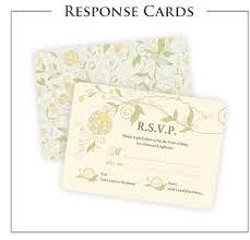 wedding invitations with response cards wedding invitations announcements programs response cards