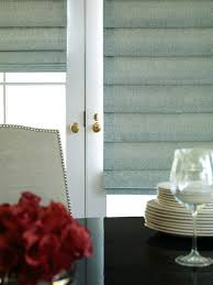french door window treatment options