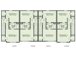 Multi Unit House Plans Multi Family House Plans Apartment Plan 025m 0094 At
