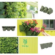 Self Watering Vertical Garden Amazon Com Worth Garden Olive Green Self Watering 1 Set 3