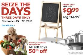 black friday kids ikea black friday deals and kids eat free natural thrifty