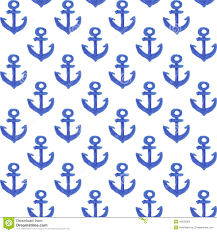 anchor wrapping paper watercolor anchor pattern stock illustration illustration of fabric