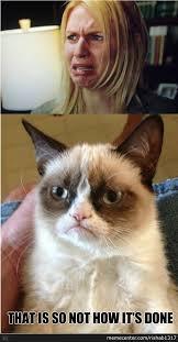 claire danes vs grumpy cat by rishab1317 meme center