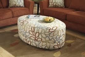 fabric ottoman coffee table upholstered fabric ottoman coffee table furniture big tufted blue