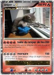 Pokémon sniper 814 814  balle du sniper de feu  Ma carte Pokémon