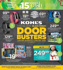 roses department store black friday ad kohl u0027s black friday 2016 ad u2014 find the best kohl u0027s black friday