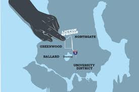 seattle map greenwood licton springs is for the buffleheads seattle weekly