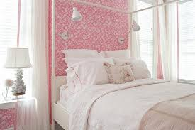 acrylic nightstand traditional u0027s room suellen gregory