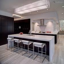 modern island lighting kitchen oak floor luxury kitchen design