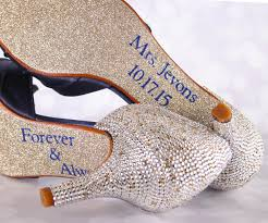 wedding shoes gold navy blue wedding shoes silver gold heels leaf applique