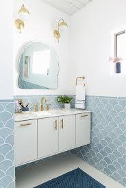 blue bathroom ideas pictures light floor tiles inspirational