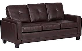 Leather Button Sofa Leather Sofas In Brown 167 Items Sale Up To 40 Stylight
