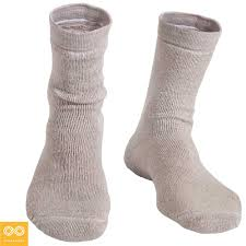 elastic free 100 organic linen terry socks by rawganique co the