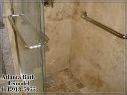 Shower Doors Atlanta by Atlanta Shower Remodel Travertine Shower Ideas Pictures Images