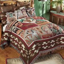 Tapestry Duvet Rustic Bedding U0026 Cabin Bedding Black Forest Decor