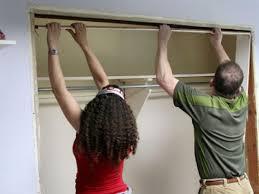 Installing A Closet Door Marvelous Ideas How To Replace Closet Doors Sliding Hgtv Closet