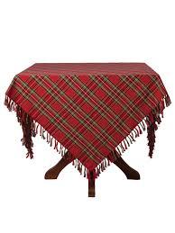 table cloth tartan plaid tablecloth attic sale linens kitchen attic