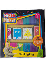 mister maker childs craft bumper modelling plasticine clay set