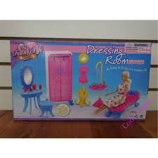 Barbie Dolls House Furniture Miniature Furniture My Fancy Life Dressing Room B For Barbie Doll
