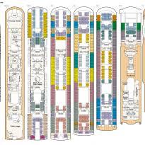 Explorer Of The Seas Floor Plan Msc Sinfonia Deck Plans Cabin Diagrams Pictures Oasis Of The Seas