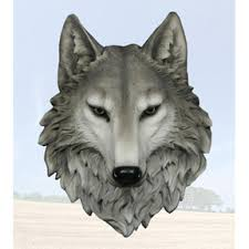 Wolf Curtains Wolf Home Decor