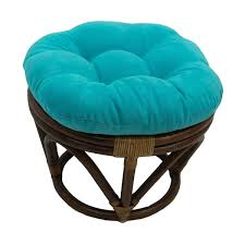 Papasan Ottoman International Caravan Bali Papasan Footstool With Cushion Free