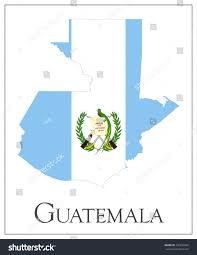 Guatemala Flag Vector Illustration Guatemala Flag Map Used Stock Vector 270234350