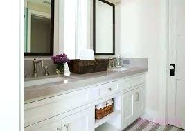 White Bathroom Mirror Frame Beveled Mirror Frame Cfresearch Co