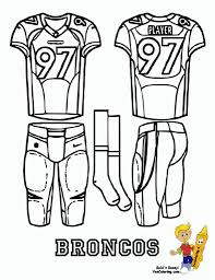 the incredible football jersey coloring pages with regard to