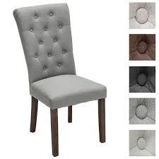 Esszimmerst Le Leder Grau Clp Design Hochlehner Polsterstuhl Esszimmer Stuhl Emden