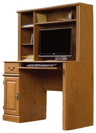 Wooden Computer Desk Plans Sauder Orchard Hills Small Wood Computer Desk With Hutch In For