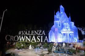 santa rosa christmas lights magical winter tale at crown asia valenza in sta rosa laguna