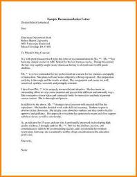 sample recommendation request letter recommendation letter sample