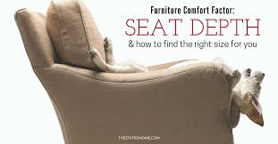 how to pick a couch sofa seat cushions pick the perfect depth the stated home