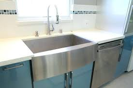 33 inch farmhouse kitchen sink 33 inch stainless steel single bowl curved front farmhouse apron