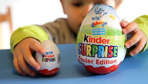egg kinder two kinder eggs big vs small easter collection from