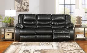 Sofa Reclining Buy Linebacker Black Reclining Sofa Reclining Furniture For