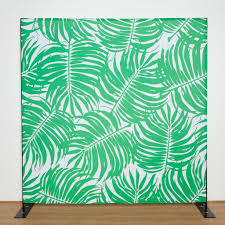 wedding backdrop online palm leaves green backdrop for photo booth wedding bar