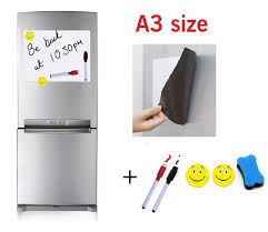 kitchen white board aliexpress com buy a3 size magnetic whiteboard fridge marker