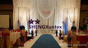 wedding backdrop curtains for sale 2018 hot sale white wedding backdrop curtain stage background