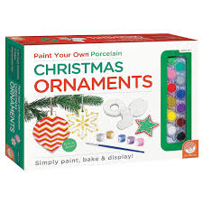 amazon com paint your own christmas ornaments toys u0026 games
