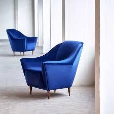 blue furniture buy vintage design furniture pamono online shop