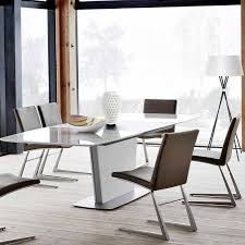 White Extending Dining Tables 16 Extendable Dining Table Designs Ideas Design Trends