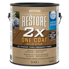 solid stain restore 2x one coat rona